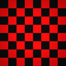 Scacchiera Rosso Nero