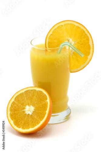 Keuken foto achterwand Opspattend water orange