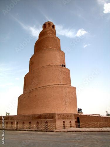 Fototapeta minaret a spiral
