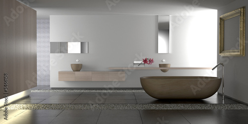 Fotografia, Obraz  Luxury modern bathroom