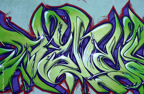 Urban wall - graffiti art abstract background