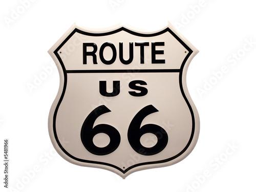 Fotografia, Obraz  Route 66 Roadsign