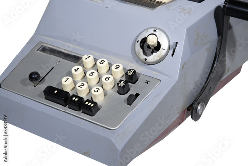 adding machine / calculator - Buy this stock photo and
