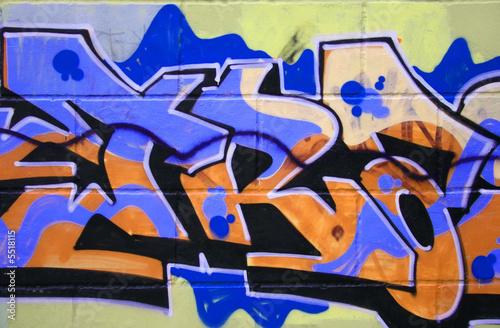 Graffiti background © Dmitriy Lesnyak