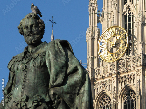 Poster Antwerp Antwerpen - Rubens