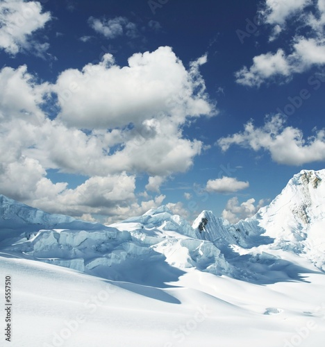 Fototapety, obrazy: Beautiful high mountain
