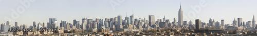 Photo  Manhattan skyline from the Jersey City bluffs, post 9-11