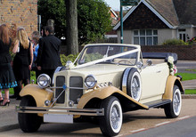 Vintage Car Waiting At The Wed...