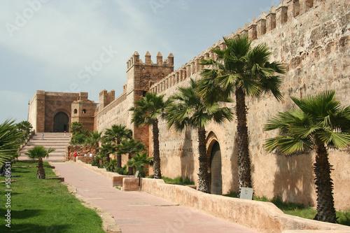 Poster Maroc Rabat walls