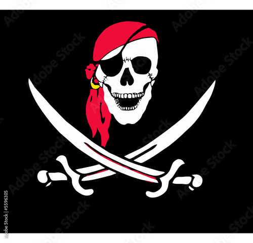 Fotografie, Obraz  pirata