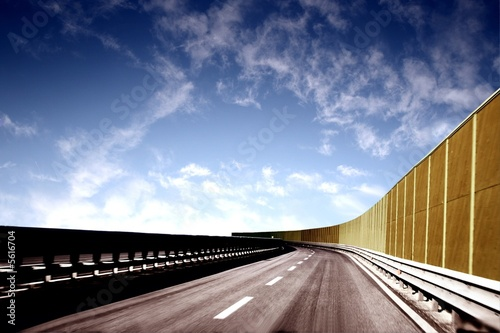 autostrada 51 Canvas Print