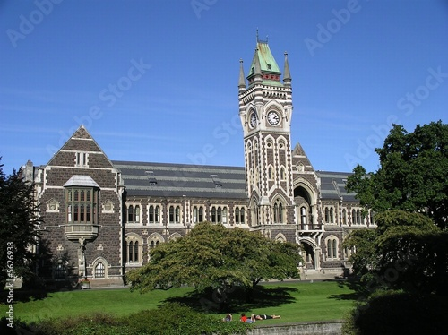 Photo  University of Otago - Clocktower Building