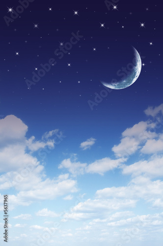 Photo  Daydream background. Day and night dreams....