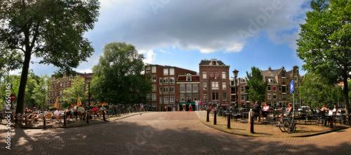 Photo  Amsterdam. Panorama.