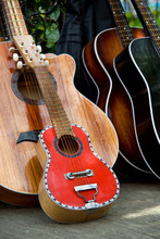 Two Handmade Guitars Downtown ...
