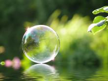 Seifenblase   Wassereffekt