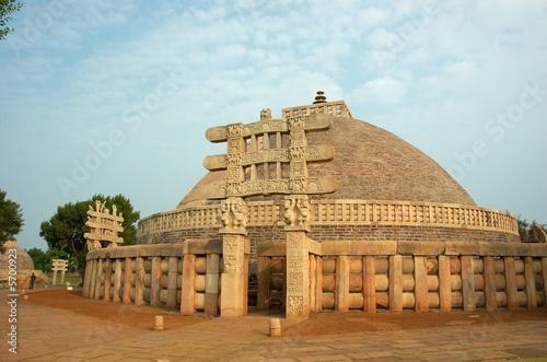 Fotografia Stupa in Sanchi