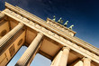 Leinwandbild Motiv Brandenburger Tor 01