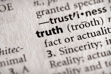 """""""truth"""". Many More Word Photos In My Portfolio...."""