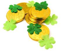 Saint Patrick's Gold And Green...