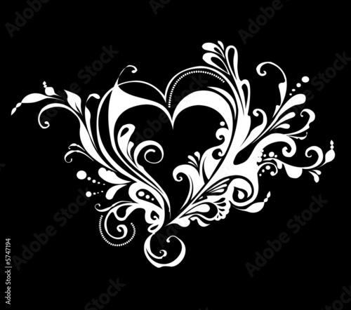 Printed kitchen splashbacks Butterflies in Grunge Heart