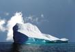 canvas print picture - iceberg