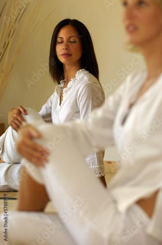 Valokuvatapetti Posizioni yoga