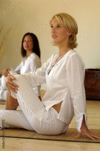 Valokuva  Donne e yoga