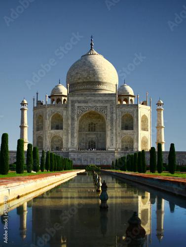 Staande foto India Taj Mahal - Agra, India