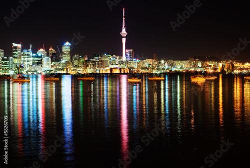 The beautiful Auckland skyline