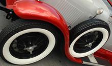 Angled Antique Car