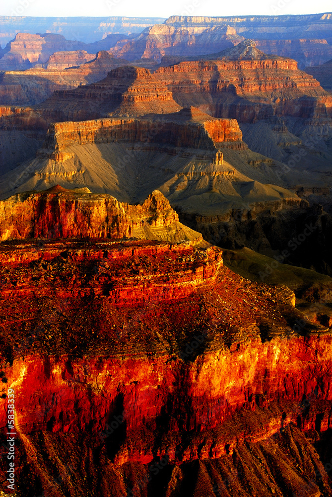 Grand Canyon colors