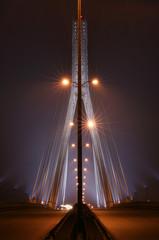 Panel Szklany Industrialny Swietokrzyski bridge