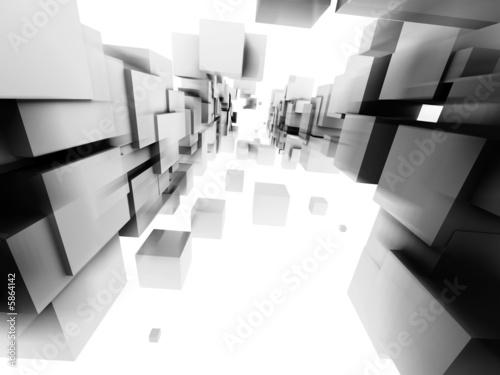 fototapeta na szkło architectural design