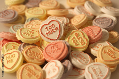 Recess Fitting Candy Lovehearts