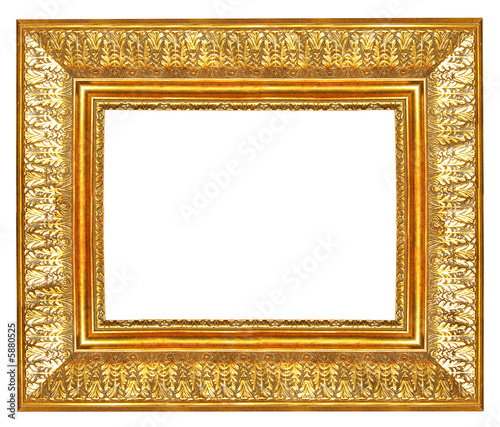 antique gilded frame - Buy this stock photo and explore similar ...