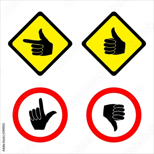 Photo  Hands signs