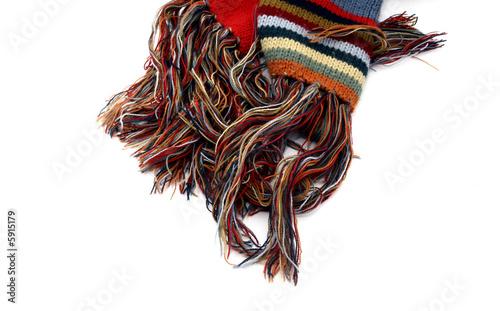Foto op Aluminium Afrika Wool Scarf