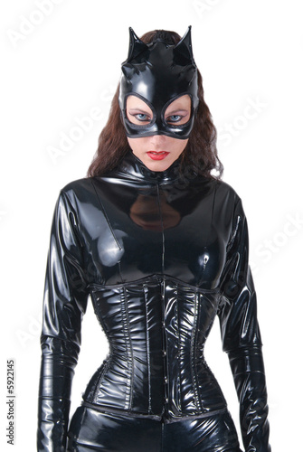 Leinwand Poster Catwoman