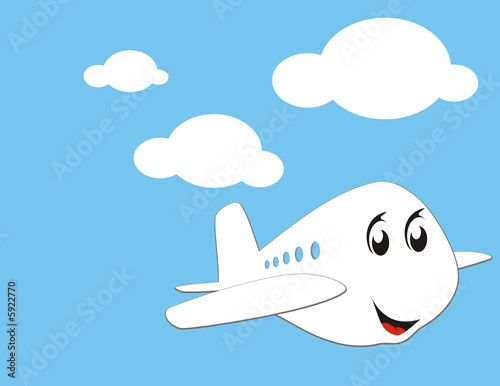 Papiers peints Ciel avioncin volando