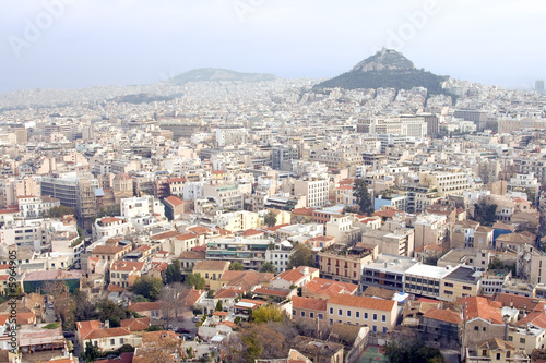 Recess Fitting Athens View of Athens, Greece cityscape.