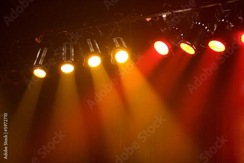 Fotografía  spot lumière éclairage spectacle concert musique2