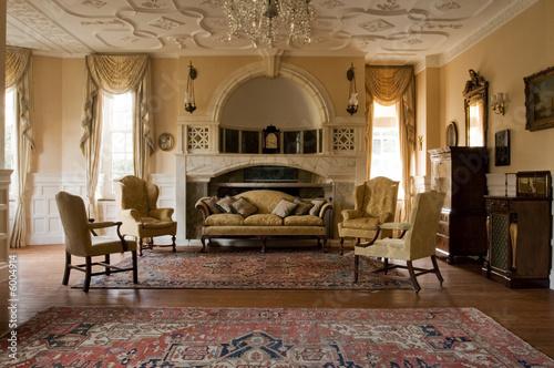 Fotografie, Tablou  Classic living room