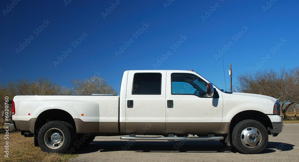 Fototapety, obrazy: Big american pickup truck