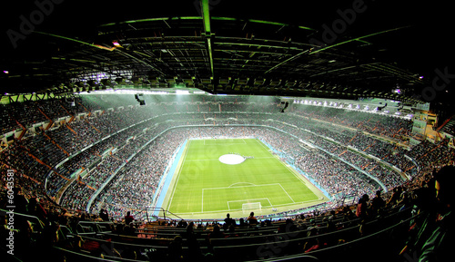 Foto-Kassettenrollo premium - foot ball stadium