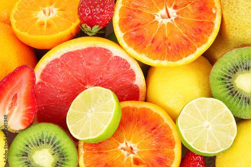 Foto-Duschvorhang - frutta