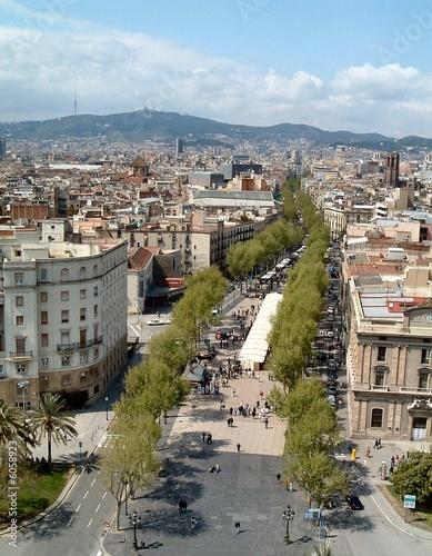 In de dag Parijs La Rambla, Barcelona, Spain 2