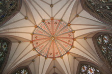 Ceiling In One Of The Rooms Of York Minster