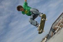 Figure En Skateboard