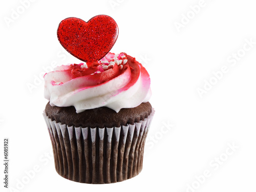 Photo  Cupcake heart